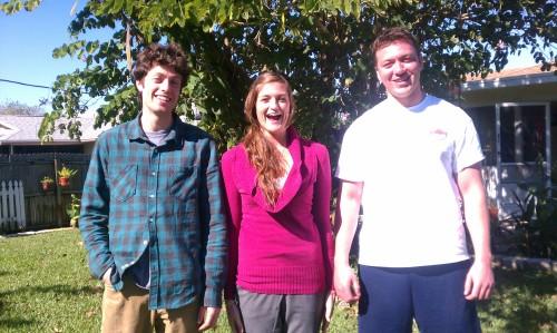 TC, Maggie, Jack, 2011