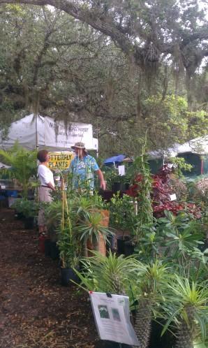 Gardenfest Vendor Area