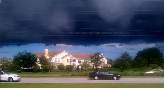 Regrettably, it didn't rain on 6/14/11