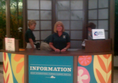 Master Gardener Booth at Epcot April 21, 2012