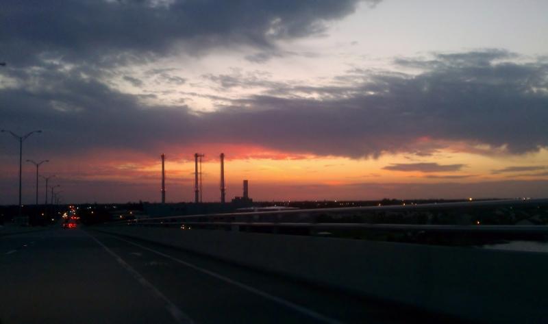 May 4th, 2012, Sunset in Vero Beach