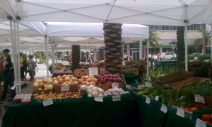 Farmers' Market on Lincoln Rd. South Beach