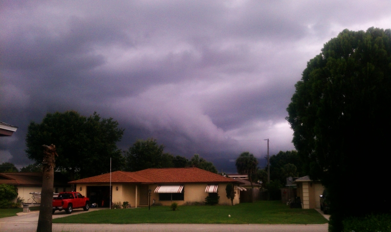 June 1, 2012 Tornado Warning 6pm Vero Beach