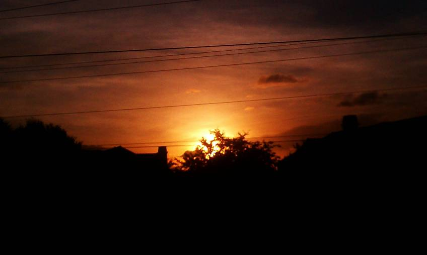 Close to Sunrise, 639am, June 19, 2012