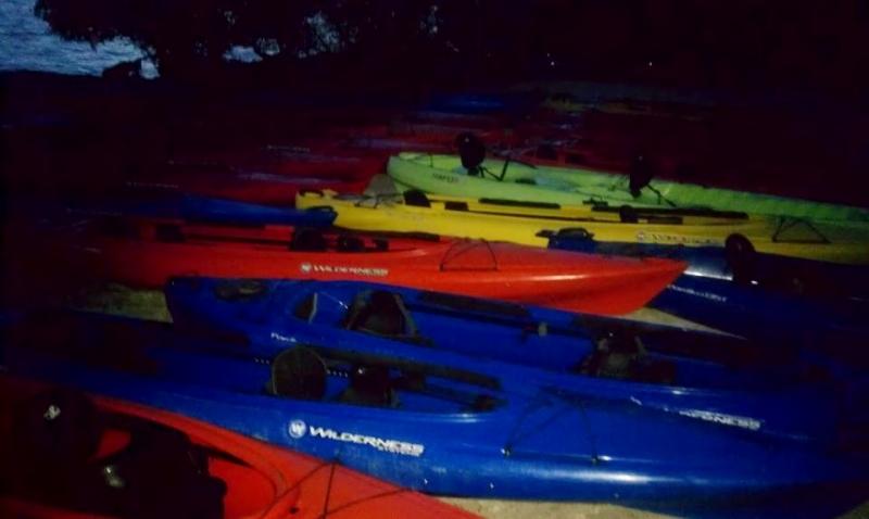 Kayaks, Haulover Canal