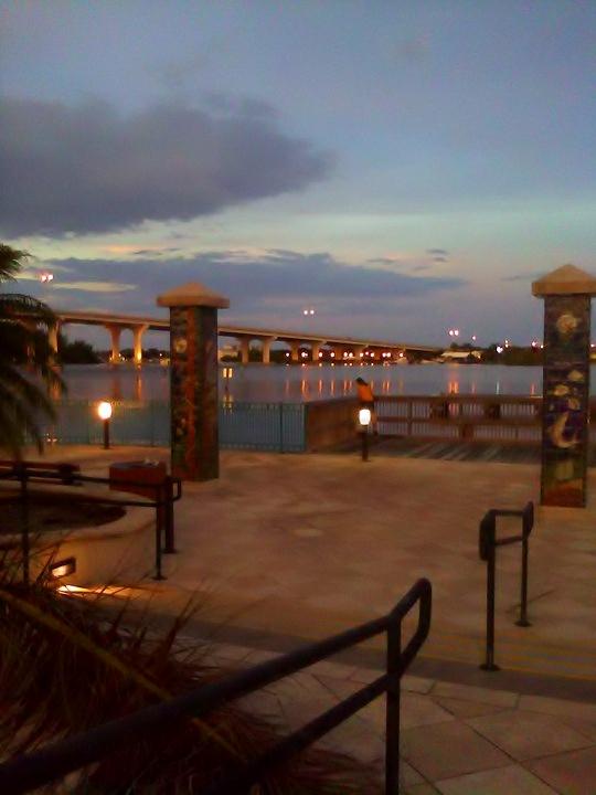 Manatee Observation Deck, Royal Palm Pointe Park, Vero Beach