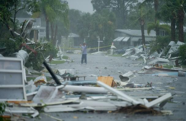 Vero Palm Estates aftermath, TS Isaac tornado, 8/27/2012