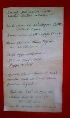 Crab Quiche Recipe Instructions