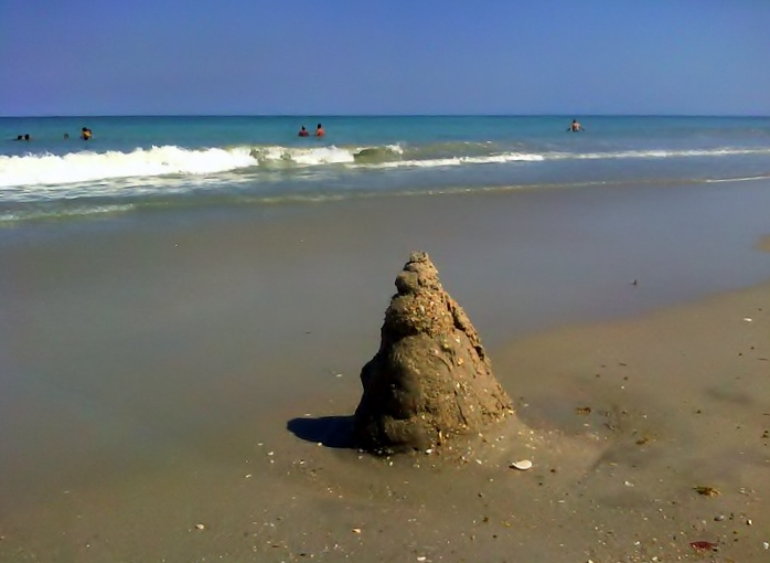 Sandcastle, Humiston Beach, Vero Beach, 3/17/12