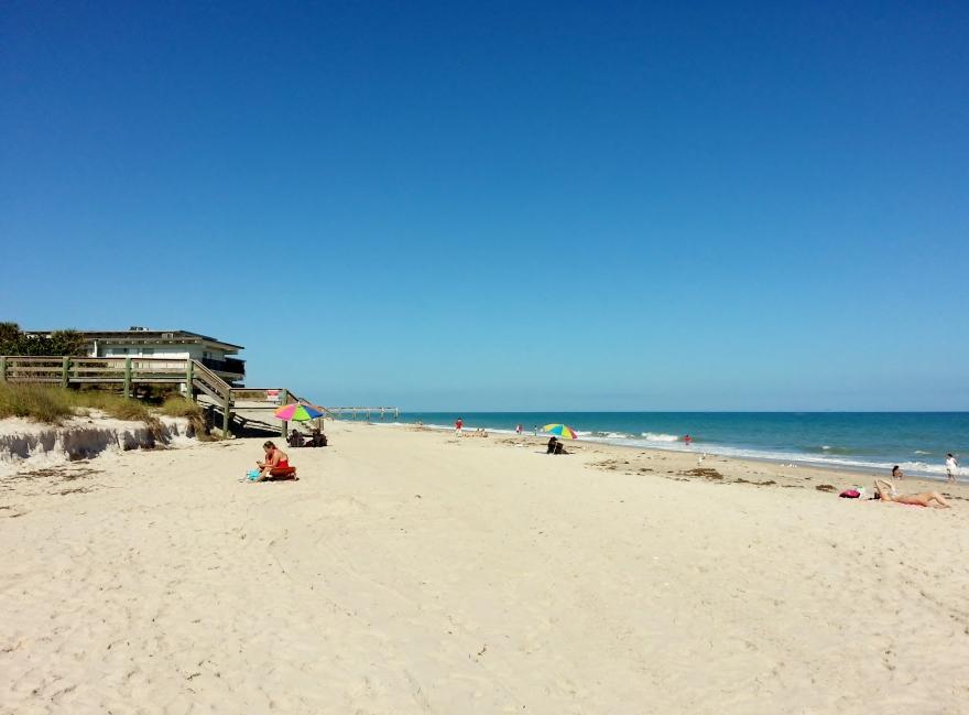 Jaycee Beach, Vero Beach, 1/12/13
