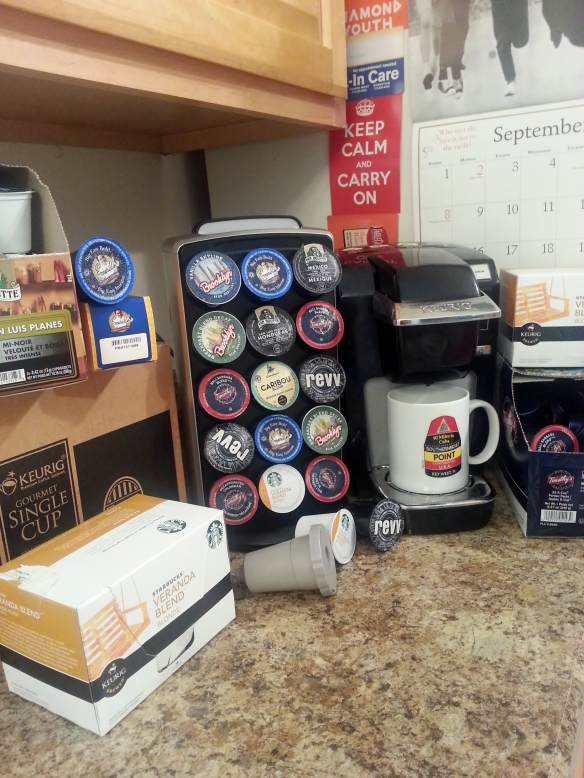 So many K-cups and not enough time!