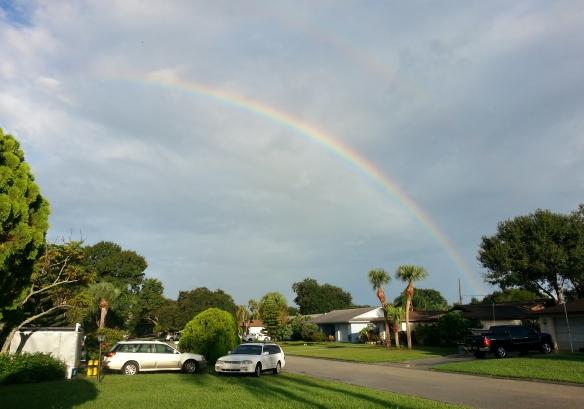 Rainbow, 9/17/13 8:12am, Vero Beach