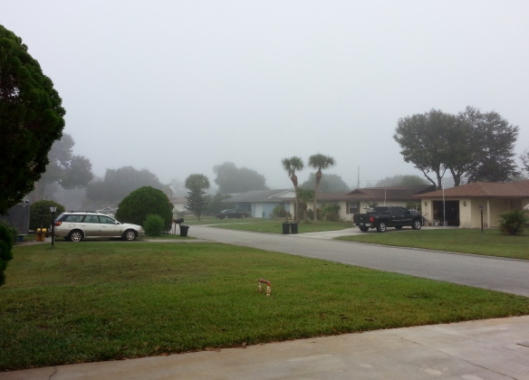 Morning Fog, Vero Beach, 10/15/13