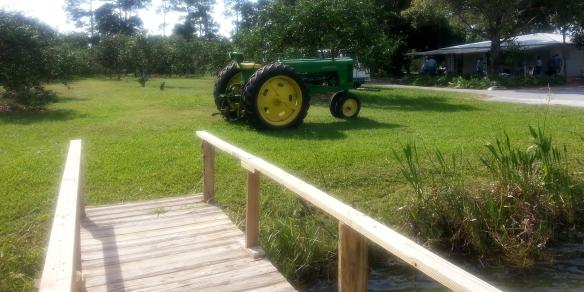Countryside Citrus tractor, Vero Beach 11/8/13