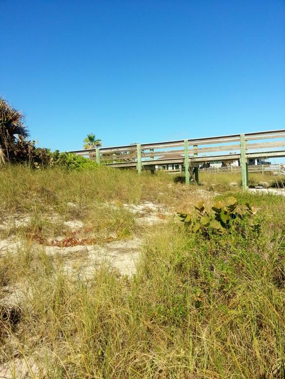 Jaycee Beach Boardwalk Steps, Vero Beach, 1/27/14