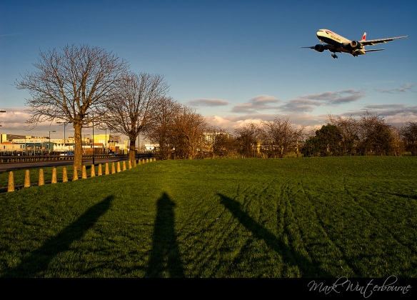 London Heathrow Arrivals Runway L7
