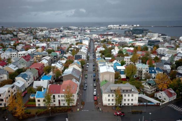 Aerial View of Reyjkavik, Iceland from Bloomberg.com