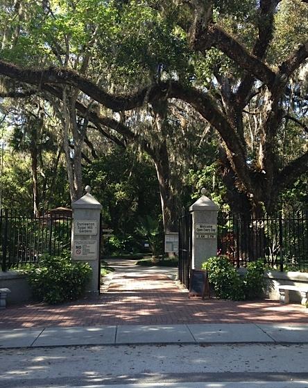 Sugar Mill Botanical Gardens Entrance, 3/8/14