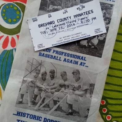 Ticket to Manatees vs Flying Tigers at Holman Stadium, 4/15/14