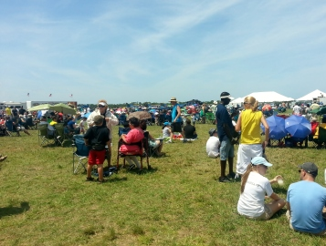 Vero Beach Air Show Crowds 2