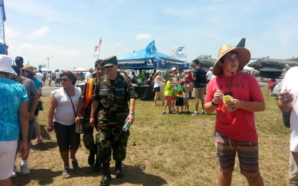 Vero Beach Air Show Crowds 1