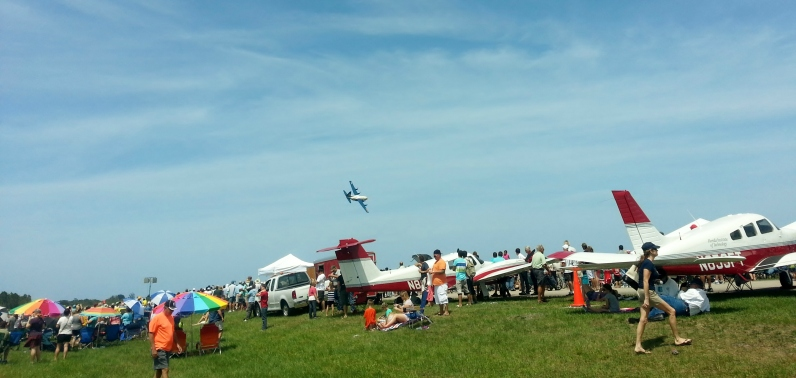 Small planes at Vero Beach Air Show, 5/11/14
