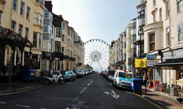 Brightonwheelsidestreet