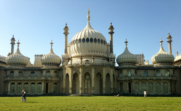 Royal Pavilion Brighton, September, 2014