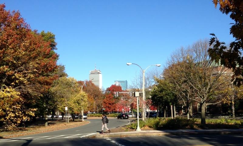 Beautiful Back Bay, Boston, November 2014
