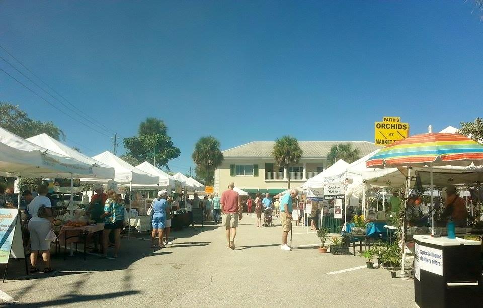 I'm at the Farmer's Market!
