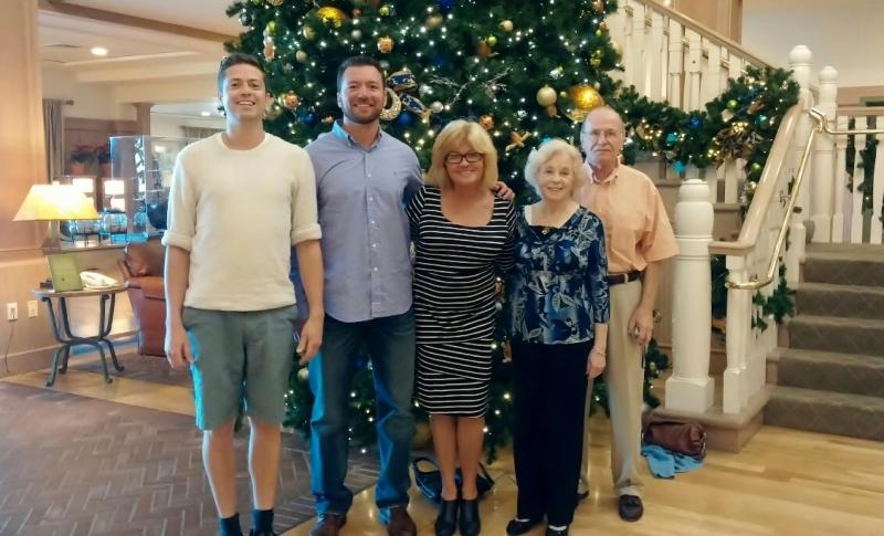 TC, Jack, Me, Rita, Dave Disney Vero Beach Resort, 1/05/15