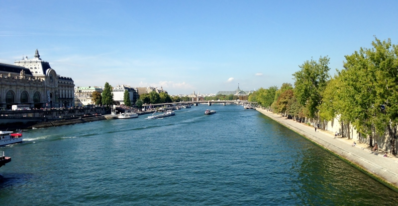 Seine, Paris, September 2014