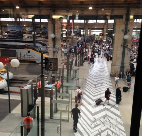 Gare du Nord, Paris, Eurostar