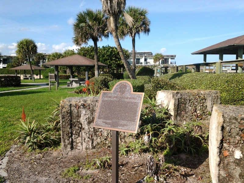 Bethel Creek House of Refuge remains, Vero Beach
